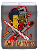 Army Of Darkness Ash Duvet Cover