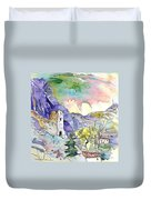 Arnedillo In La Rioja Spain 03 Duvet Cover