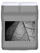 Aroid House Leaf Duvet Cover