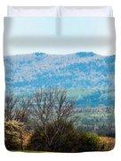 Aroostook Landscape Duvet Cover