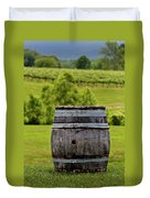 Around The Vineyard Duvet Cover
