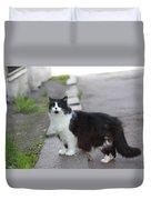 Arrogant Cat Duvet Cover