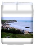 Arromanches-les-bain Duvet Cover
