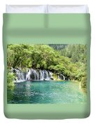 Arrow Bamboo Waterfall Duvet Cover