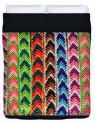 Arrow Pattern Woven Bracelets Duvet Cover