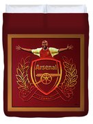 Arsenal London Painting Duvet Cover