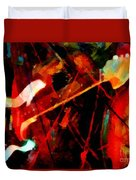 Art And Music Painting Duvet Cover