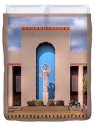 Art Deco Of Texas State Fairgrounds Duvet Cover