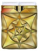 Art Deco Brass 2 Duvet Cover