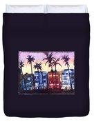 Art Deco Miami Duvet Cover