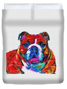 Art Dogportrait Duvet Cover