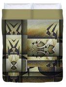 Art From The Klingon Homeworld Duvet Cover
