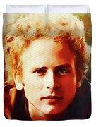 Art Garfunkel, Music Legend Duvet Cover