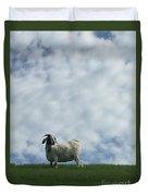 Art Goat Duvet Cover