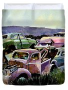 Art In The Orchard Duvet Cover