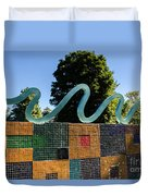 Art In The Park - Louis Armstrong Park - New Orleans Duvet Cover