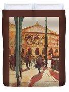 Art Institute Reflected Duvet Cover