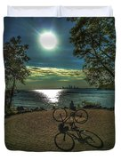 Art Of The Morning Sun Duvet Cover