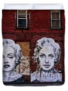 Art On The Street Duvet Cover