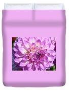 Art Prints Dahlia Flower Decorative Art Garden Baslee Duvet Cover