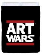 Art Wars Duvet Cover