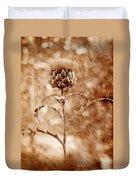 Artichoke Bloom Duvet Cover