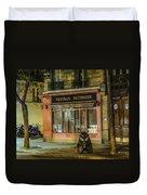 Artisan Patissier Montmartre Paris Duvet Cover
