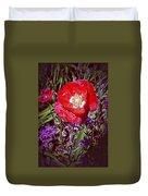 Artistic Kentucky Red Poppy Duvet Cover