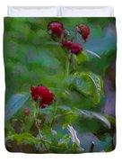 Artistic Last Rose Duvet Cover