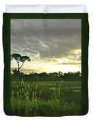 Artistic Lush Marsh Duvet Cover