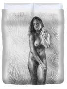 Artistic Nude  Duvet Cover