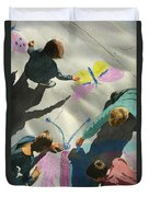 Artists At Work Duvet Cover