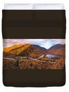 Artists Bluff Sunset Rainbow Duvet Cover