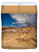 Artists Drive, Death Valley Duvet Cover