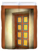Arts Center Door Duvet Cover