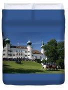Artstetten Castle In June Duvet Cover