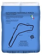 Autodromo Nazionale Monza Duvet Cover