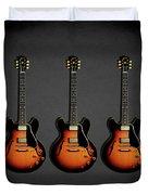 Gibson Es 335 1959 Duvet Cover