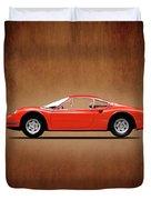 Ferrari Dino 246 Gt Duvet Cover