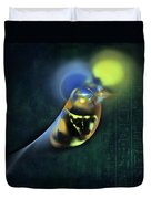 Horus Egyptian God Of The Sky Duvet Cover by Menega Sabidussi