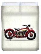 Indian 401 1928 Duvet Cover