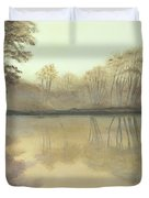 Foggy Reflections Duvet Cover