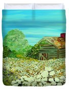 To The Edge Duvet Cover