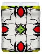 Color Symmetry  Duvet Cover