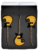 Gibson Melody Maker 1962 Duvet Cover
