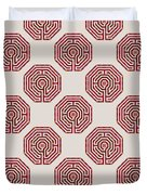 Cologne - Red Earth Duvet Cover