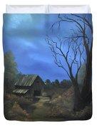 Moonlit Path Duvet Cover
