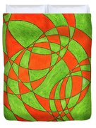 Intersection, No. 1 Duvet Cover