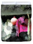 Poncho Porch Duvet Cover