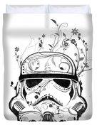 Flower Trooper Duvet Cover